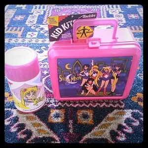 Vintage sailor moon never used lunchbox & thermos